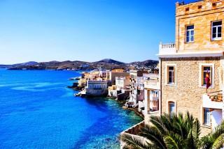 syros island casa del sol port