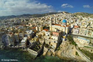 syros island casa del sol villa chora