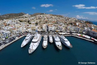 syros island casa del sol villa port