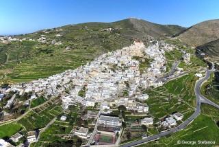 syros island casa del sol villa town