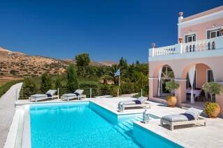 villa casa del sol pool area